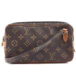 Louis Vuitton Marly Pochette Monogram Messenger